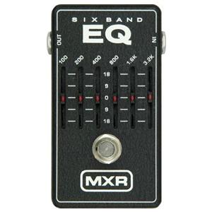 MXR エムエックスアール / M-109 6Band Graphic EQ【イコライザー】【ギターエフェクター】