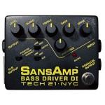 TECH21 テック21 / SANSAMP サンズアンプ Bass Driver DI【ベースアンプ シミュレーター】【プリアンプ】【ベース用エフェクター】