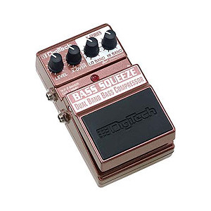 Digitech デジテック XBS Bass Squeeze Dual Band Bass Compressor【ベース用エフェクター】
