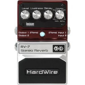 Hardwire ハードワイアー /RV-7 ステレオ リバーブ【リバーブ】