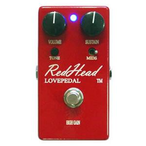LOVEPEDAL ラブペダル / Red Head【ディストーション】【ファズ】