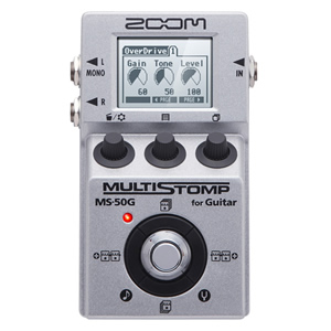 ZOOM ズーム MULTI STOMP MS-50G for Guitar【ギター用マルチエフェクター】