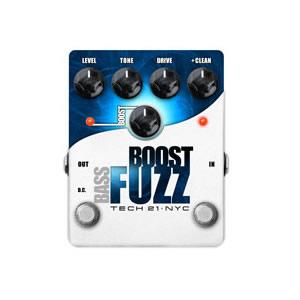 TECH21 テック21 Bass Boost Fuzz【ベース用エフェクター】