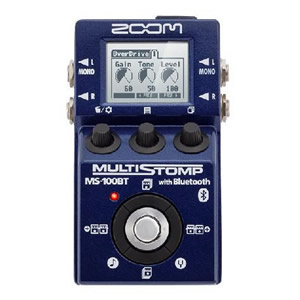 ZOOM ズーム MS-100BT with Bluetooth【ギター用マルチエフェクター】
