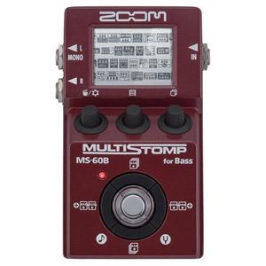 ZOOM ズーム MS-60B Multi Stomp for Bass【ベース用マルチエフェクター】
