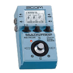 ZOOM ズーム MULTI STOMP MS-70CDR Chorus/Delay/Reverb【ギター用マルチエフェクター】