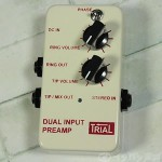 TRIAL / DUAL INPUT PREAMP アコースティックプリアンプ【アコギ用エフェクター】