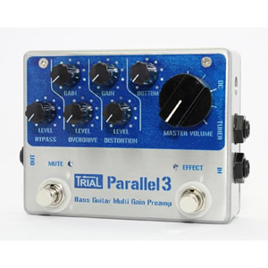 TRIAL / Parallel 3 Bass Guitar Multi Gain Preamp【ベース用エフェクター】