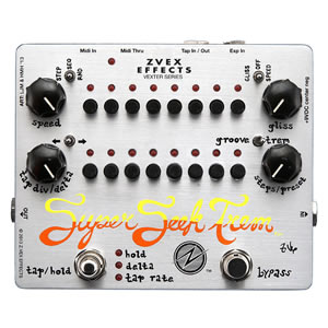 Z-VEX ジーベックス SUPER SEEK TREM VE/SE Vexter Series【トレモロ】