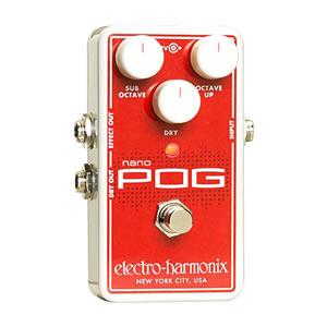 Electro Harmonix エレクトロハーモニクス / NANO POG Polyphonic Octave Generator【オクターブ・ジェネレーター】