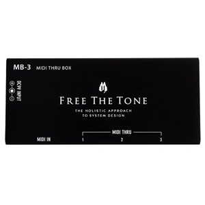 FREE THE TONE MB-3 MIDI THRU BOX
