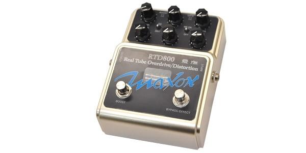 Maxon マクソン / RTD800 Real Tube Overdrive/Distortion【オーバードライブ】