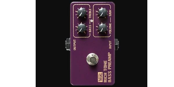TRIAL トライアル / Rich Tone Bass Preamp【ベース用エフェクター】