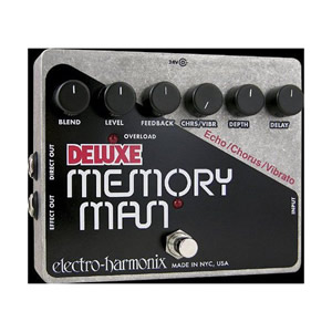 Electro Harmonix エレクトロハーモニクス / DELUXE MEMORY MAN デラックス メモリーマン【ディレイ コーラス ビブラート】