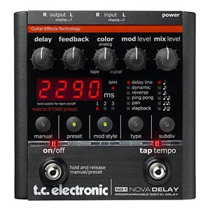 tc electronic ティーシーエレクトロニック /ND-1 Nova Delay Programmable Digital Delay【ディレイ】