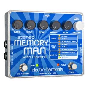 Electro Harmonix エレクトロハーモニクス / Stereo Memory Man with Hazarai【ディレイ/エコー】