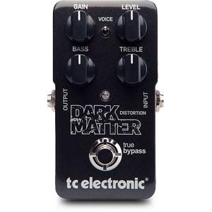 tc electronic ティーシーエレクトロニック / Dark Matter 【ディストーション】