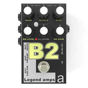 AMT Electronics エーエムティー / LA-2 Guitar Preamp Series B2 La Legend Amps【プリアンプ】