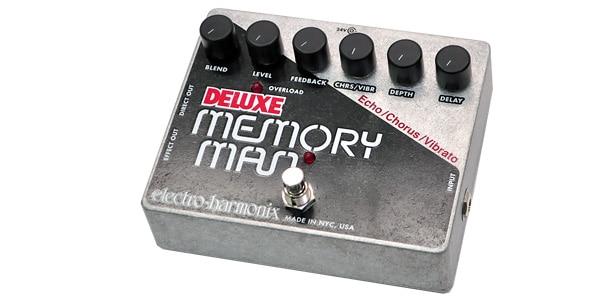 Electro Harmonix エレクトロハーモニクス / DELUXE MEMORY MAN【ディレイ コーラス ビブラート】