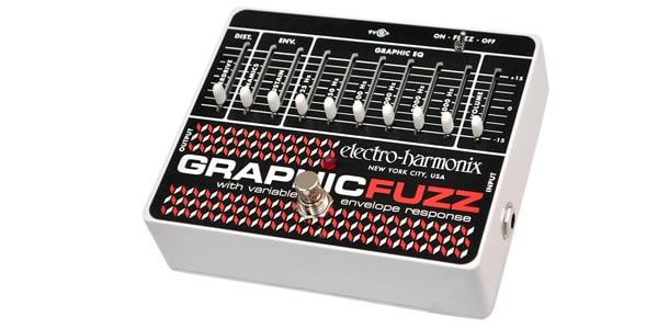 Electro Harmonix エレクトロハーモニクス / GRAPHIC FUZZ XO【イコライザー+ファズ】
