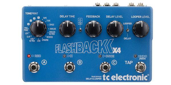 tc electronic ティーシーエレクトロニック /TonePrint Flashback X4【ルーパー】