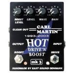 CARL MARTIN カールマーチン / HOT DRIVE'N BOOST MK3【ディストーション】【ブースター】