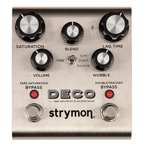 strymon ストライモン / DECO TAPE Saturatio & Doubletracker テープエコー