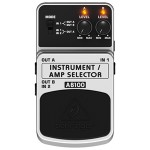 BEHRINGER べリンガー / GUITAR/AMP SELECTOR AB100【フットスイッチ】