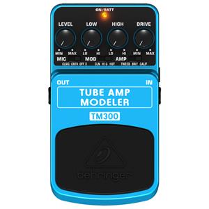 BEHRINGER べリンガー / TUBE AMP MODELER TM300【アンプシミュレーター】
