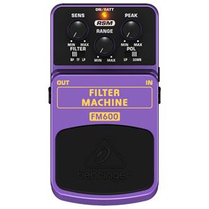 BEHRINGER べリンガー / FILTER MACHINE FM600【フィルター系エフェクター】