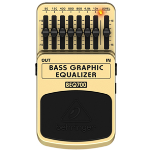 BEHRINGER / BASS GRAPHIC EQUALIZER BEQ700【ベース用イコライザー】