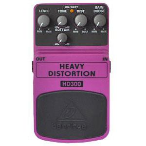 BEHRINGER べリンガー / HEAVY DISTORTION HD300【ディストーション】