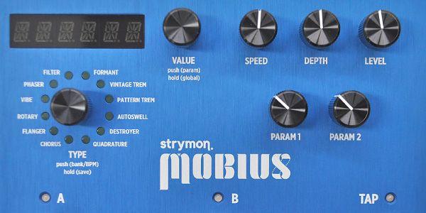 strymon ストライモン / MOBIUS メビウス モジュレーション・マシーン【モジュレーション系マルチエフェクター】