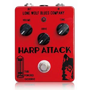 Lone Wolf Blues Company ローンウルフブルースカンパニー / Harp Attack【ハープ用エフェクター】