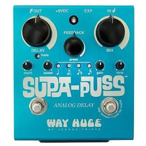 WAY HUGE ウェイヒュージ / WH-707 SUPA-PUSS Analog Delay【ディレイ】