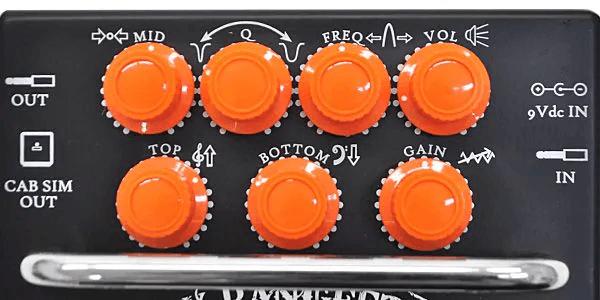 Orange オレンジ / Bax Bangeetar Guitar Pre-EQ バックス・バンジーター BLACK/ブラック【プリアンプ】