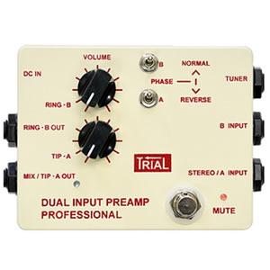 TRIAL トライアル / Dual Input Preamp Professional【アコギ用エフェクター】