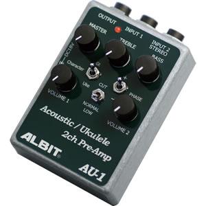ALBIT アルビット / AU-1【アコギ用エフェクター】