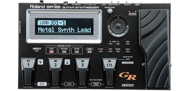 Roland ローランド / GR-55S-BK Guitar Synthesizer Black【ギターシンセサイザー】