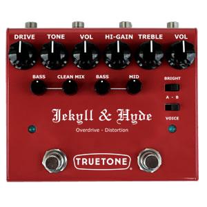 TRUETONE トゥルートーン / V3 Jekyll&Hyde【オーバードライブ/ディストーション】