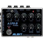 ALBIT アルビット / A1PS-BBASS PRE-AMP with DC9V POWER SUPPLY【ベース用プリアンプ】【パワーサプライ】