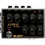 ALBIT アルビット / A1PS-G GUITAR PRE-AMP with DC9V POWER SUPPLY【プリアンプ】【パワーサプライ】