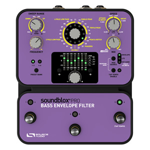Source Audio ソースオーディオ / Soundblox Pro SA143 Bass Envelope Filter Pro【ベース用エンベロープフィルター】
