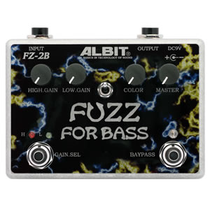 ALBIT アルビット / Fuzz for Bass FZ-2B【ベース用ファズ】