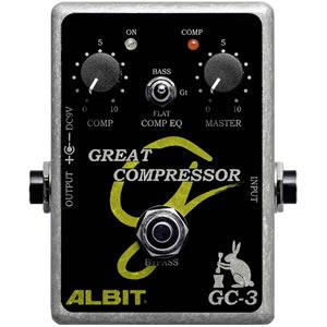ALBIT アルビット / GC-3 Great Compressor【コンプレッサー】