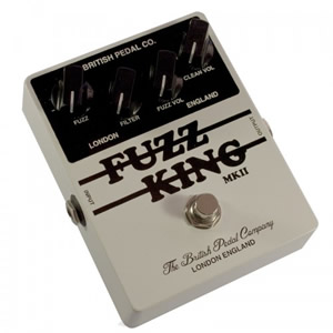 British Pedal Co. / Players Series Fuzz King MKII【ファズ】