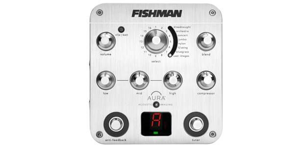 FISHMAN フィッシュマン / Aura Spectrum DI【プリアンプ】
