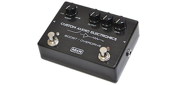 MXR エムエックスアール / CUSTOM AUDIO ELECTRONICS MC-402 BOOST/OVER DRIVE【ブースター オーバードライブ】