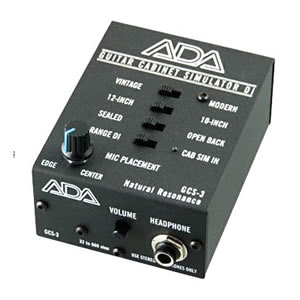 A/DA エーディーエー / GCS-3【ギター・キャビネット・シミュレーター】