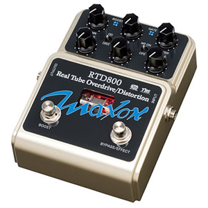 MAXON マクソン / RTD800 Real Tube Overdrive/Distortion【オーバードライブ】【ディストーション】